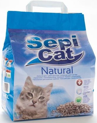 SEPIOLSA SepiCat Natural  / СЕПИОЛСА натуральный  наполнитель для кошачьего туалета