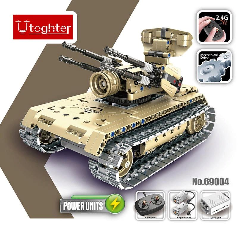 Utoghter 69004 2.4G RC боевой танк.