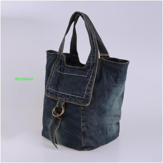 d64d2f291646 Большая джинсовая сумка: мода меняется, джинса остается