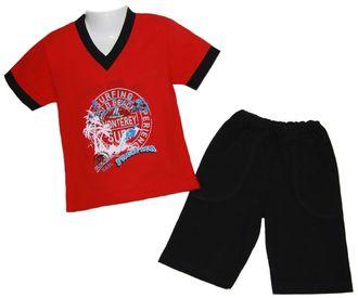 Комплект для мальчика (Артикул 2151-342) цвет красный