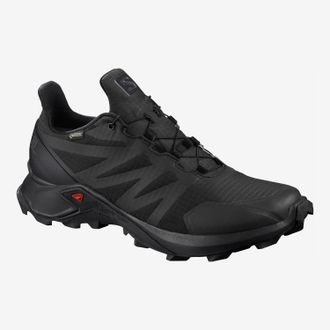 Кроссовки SALOMON SUPERCROSS GTX Black/Bl/Bl  408088   (Размер: 8,5; 10; 10,5)