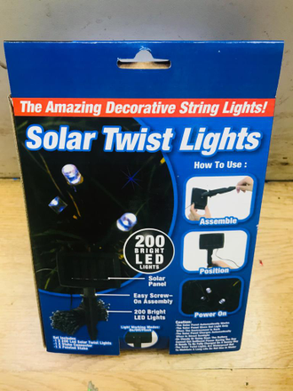 Cветодиодная гирлянда Solar Twist lights 200 led оптом