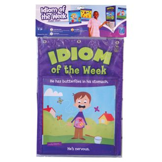 Idioms of the Week Pocket Chart