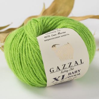 Gazzal Baby Wool XL 821 салат