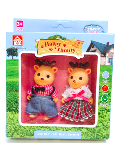 Фигурки Олени Happy Family (8см)