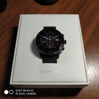 Умные часы Xiaomi Amazfit Stratos (Smart Sports Watch 2) EU Black 1f41c5bda72