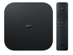 Медиаплеер Xiaomi Mi Box S (MDZ-22-AB) Black INTERNATIONAL VERSION Русский Язык
