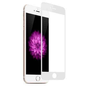 Защитное стекло Max Premium 3D Glass для Apple iPhone 6 Plus /6s Plus белая рамка