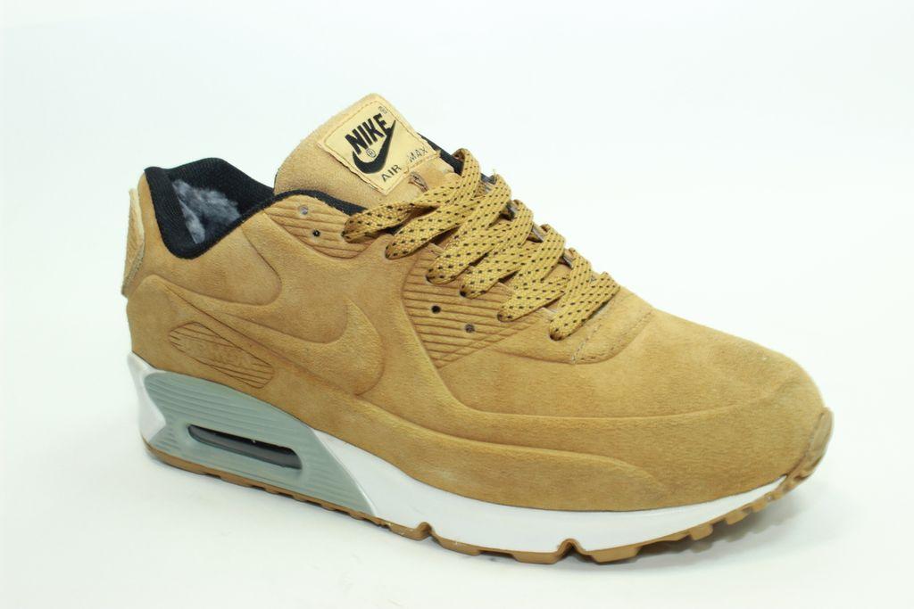 d7b2b151 Купить кроссовки Nike Air Max VT 90 песочные, замша/искусст.мех ...