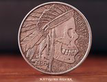 The Bad Mojo Silver Finish Coin