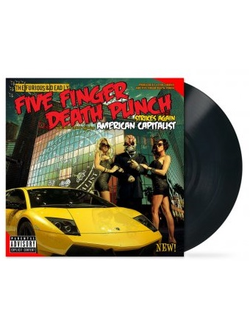 FIVE FINGER DEATH PUNCH American capitalist LP
