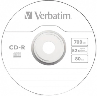Диск CD-R Verbatim 43725 Extra Protection 10шт