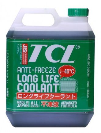 Антифриз TCL LLC GREEN (Long Life Coolant) - 40 (4 л)