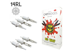 "14RL/0,30 mm - Round Liner ""BIG-WASP"" (STANDARD WHITE)"
