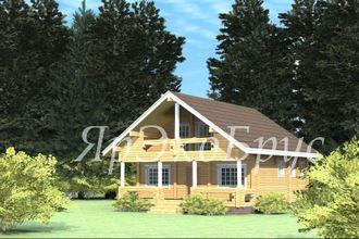 дом из бруса - проект № 13
