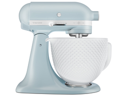 Планетарный Миксер KitchenAid ARTISAN HERITAGE 4.8л., MISTY BLUE (ГОЛУБОЙ ТУМАН), 5KSM180RCMB, KITCHENAID