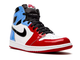 Nike Air Jordan Retro 1 Mid High Fearless (разноцветные)