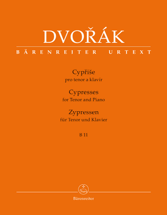 Dvorak Cypresses for Tenor and Piano B 11