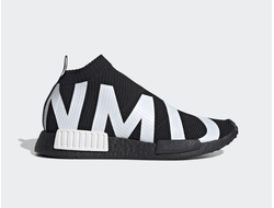 Adidas NMD CS1 PK Black/White черно-белые