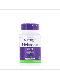 Мелатонин Natrol Melatonin 5mg 60 tab