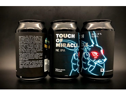 Touch of Miracle IPA - New England Прикосновение чуда НЕИПА 6% IBU 50 0,33л (120) Hausmann в банке