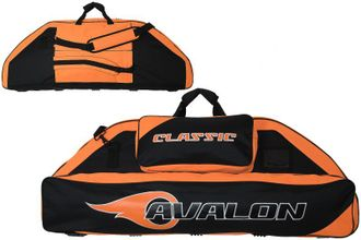 сумка AVALON CLASSIC 116 CM BLACK/ORANGE