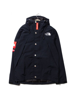 Куртка Supreme x The North Face тёмно-синяя