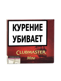 Сигариллы  Clubmaster Mini Red (Vanilla)*10*10*10