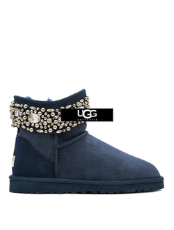 UGG JIMMY CHOO MULTICRYSTAL NAVY