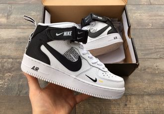Кроссовки Nike Air Force 1 Utility Mid White