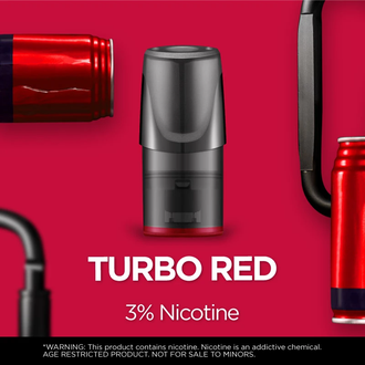 Relx pod Turbo red (Энергетик)