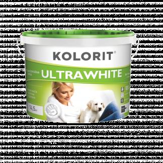 Краска Kolorit Ultrawhite