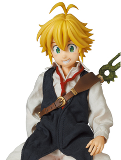 Кукла 1/6 Real Action Heroes Meliodas (Мелиодас)