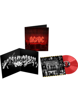 AC/DC - POWER UP LP RED
