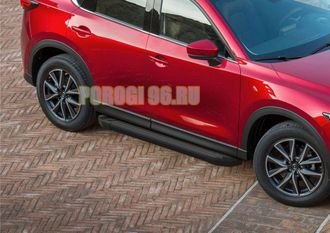 Пороги на Opel Mokka (2012-…) Black Start
