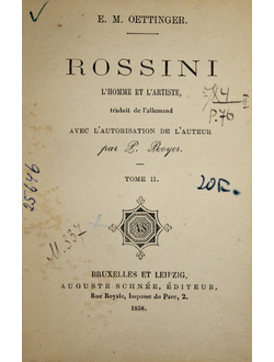 Oettinger E. Rossini