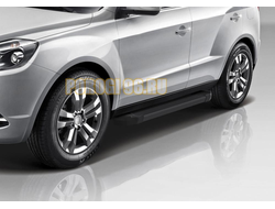 Пороги на Geely Emgrand X7 (2013-2016-…) Start Black