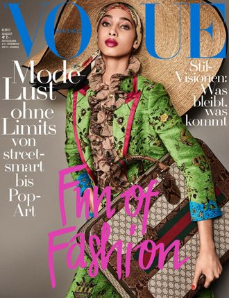 VOGUE DEUTSCH Magazine August 2017 Yasmin Wijnaldum Cover ЖЕНСКИЕ ИНОСТРАННЫЕ ЖУРНАЛЫ INTPRESSSHOP