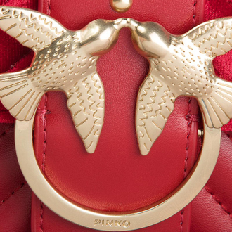 Pinko love metal birds red