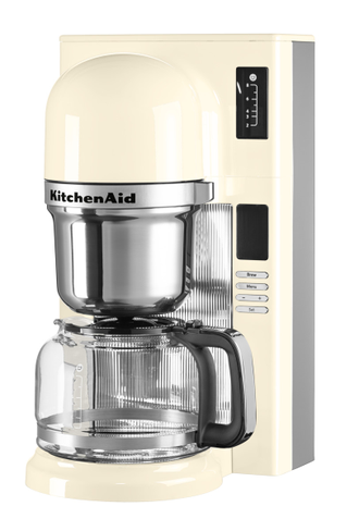Кофеварка пуровер KitchenAid, кремовая, 5KCM0802EAC