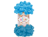 Alize Puffy 16 яркая бирюза