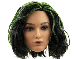 Женская голова (скульпт)  1/6 female head sculpture in Europe and America (NB-002B) - cowpen toys