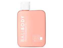 BALI BODY Peach Tanning Oil SPF6 - Масло для загара с ароматом персика