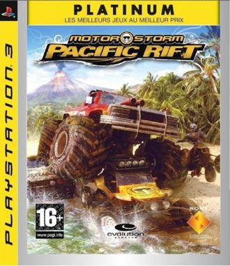 Игра для ps3 MotorStorm Pacific Rift Platinum