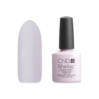 Гель-лак Shellac CND Clearly Pink №40523