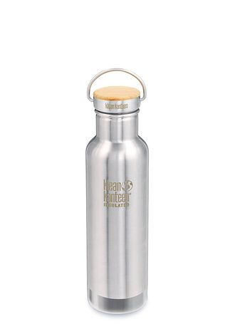 Термобутылка Klean Kanteen Reflect 20oz (592 мл) Brushed Stainless