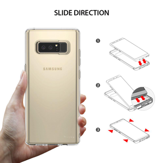 Чехол для Samsung Galaxy Note 8, Ringke серия Air Case, красный Rose Gold