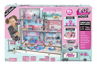 MGA Entertainment L.O.L. Surprise House Большой Дом ЛОЛ, 555001
