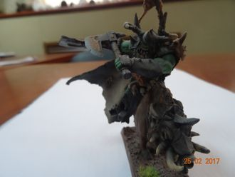 Orc Warlord mounted on Warboar