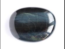 Соколиный глаз, полировка плоская, ЮАР (39*30*10 мм, 21 г) №16770